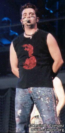 Photos of *NSync Live in Concert by Kevin B. Campisi
